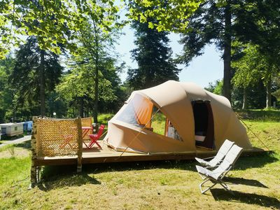 Photo for Ecochic Tent Camping Les Murmures du Lignon without sanitary
