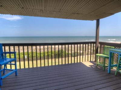 Photo for Amazing view at Blue Latitude! Oceanfront condo with 16-ft private deck