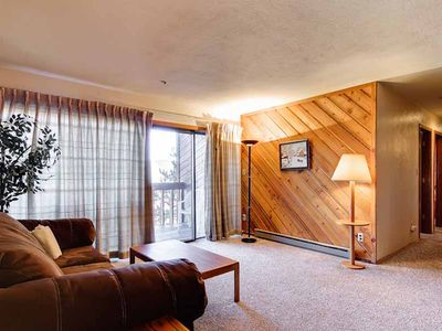 Photo for Spacious condo located in town with private balcony