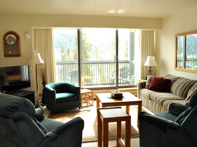 Photo for Special Getaway - Beautiful Views - Hot Tub -  Free Shuttle to Lifts - Quiet
