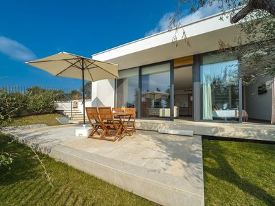 Photo for 568 m from the center of Primošten with Internet, Pool, Air conditioning, Parking (740130)
