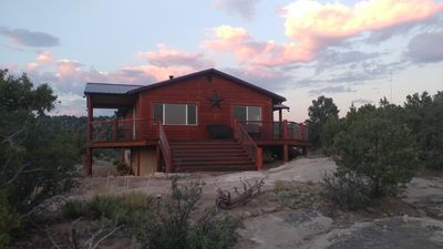 Photo for Beautiful Four Bedroom Cabin on 40+ acre property by Starvation Reservoir!