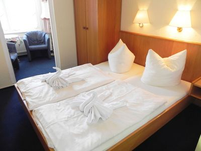Photo for Double Room 22 - Domkes Hotel Garni Haus an der See