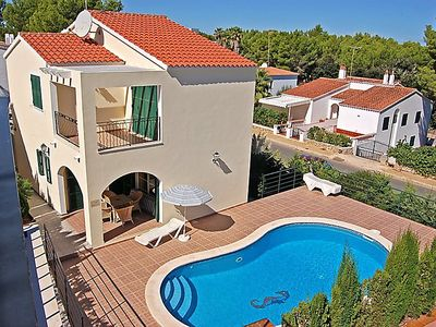 Photo for Vacation home Villas Cala Galdana V4D AC 01  in Cala Galdana, Menorca - 8 persons, 4 bedrooms