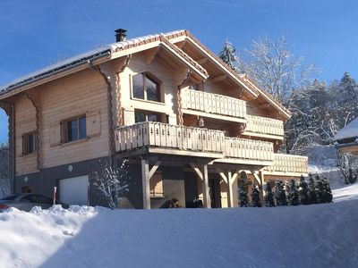 Photo for New chalet, apartment mountain Les Rousses