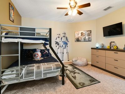 Photo for Movie Magic House - Southern Pool/Spa, Gated Community,  Themed Kids Rooms!!!