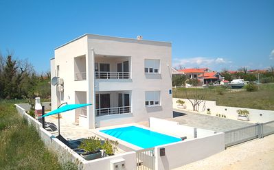 Photo for Holiday apartment Privlaka for 1 - 5 persons with 2 bedrooms - Holiday apartment