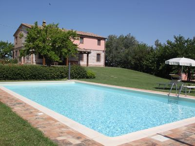 Photo for Villa del Monte, retreat of peace and tranquility, with private pool