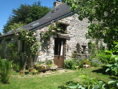 Photo for Stunning Breton country cottage in a large secluded garden. Sleeps 2-6.