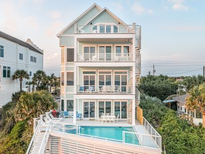 Photo for Seahorse - Beachfront - Pool* with bar stools - Spacious decks - Pro cleaning