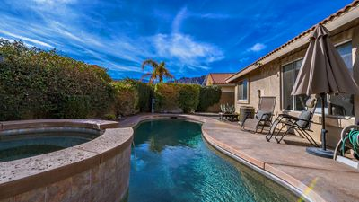 Photo for Beautiful Pool/Spa home in La Quinta with amazing mountain views!