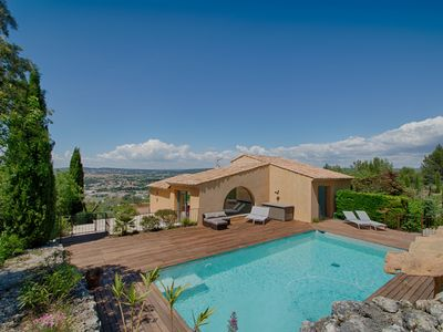 Photo for Villa Loujasso - Luxurious house overlooking Aix en Provence