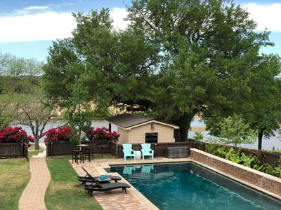 Photo for Amazing Lakefront Home With Private Swimming Pool, Dock And Sandy Island.