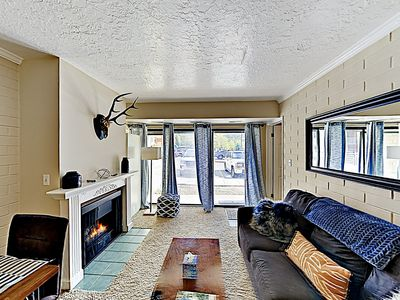 Photo for New Listing! Cozy Mountain Getaway w/ Hot Tub - Near Slopes & Shuttle
