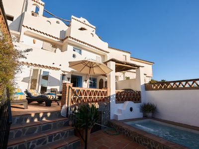 Photo for Townhouse With A Private Pool And Views Of The Sea, Gibraltar Rock And Morocco.