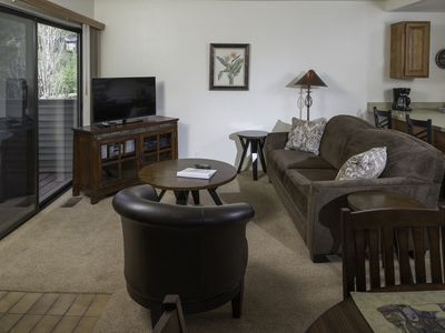 Photo for Experience Park City like a local - cozy + quiet 2 bed/2 bath condo