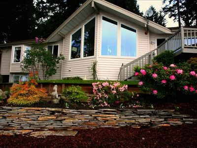Photo for Puget Sound Beach House - Gorgeous Waterfront, Views - Beach Access