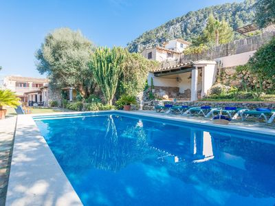 Photo for COSTE CAN MORAGUES - Villa with private pool in Pollença.