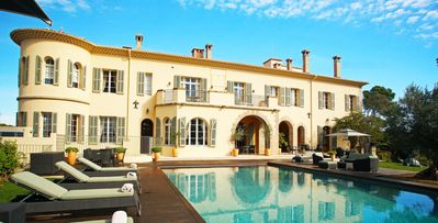 Photo for Chateau d'Azur- 15bd chateau with gym and courtyard in Cannes