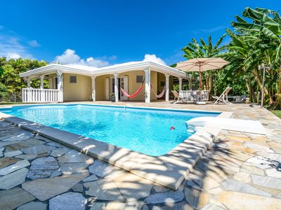 Photo for Villa with swimming pool 10 minutes from beaches