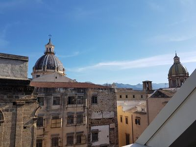 Photo for Penthouse on the cassaro 1- in the heart of the historic center of Palermo
