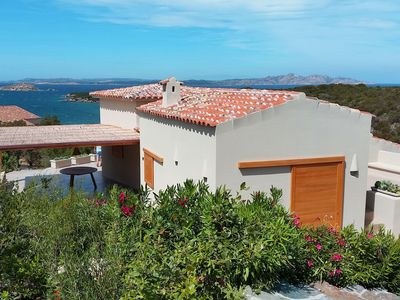 Photo for Independent villa, renovated, a few steps from the sea, beautiful sunsets