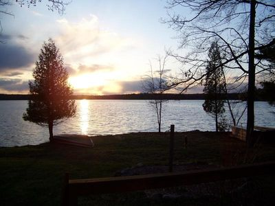 View to the lake -