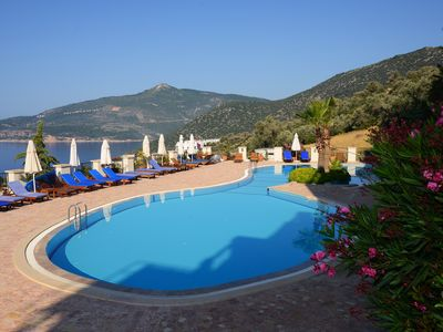 Photo for Luxury 2 Bedroom Apartment, Saneil complex, Kalkan, Quiet Location.