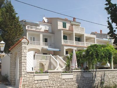 Photo for Apartments and rooms Meri, (2549), Bol, island of Brac, Croatia
