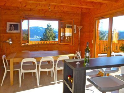 Photo for Gd New chalet with a splendid view over Lake Matemale 8 per