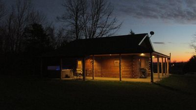 Photo for Secluded Rental Cabin on Southern Illinois Wine Trail, Private Hot Tub
