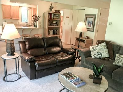 Photo for Remodeled 2 Bedroom East Vail Condo #102 w/ Hot Tub. Steps to Shuttle.