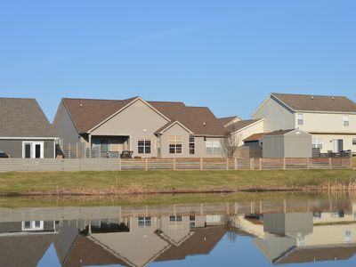 Photo for Cabin feel near purdue university and the top golf courses in Indiana