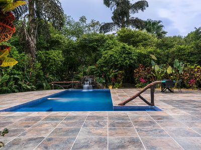 Fortuna Vacation Rental:The Villa Hermosa/2 guesthouses/pool/game-room/garden