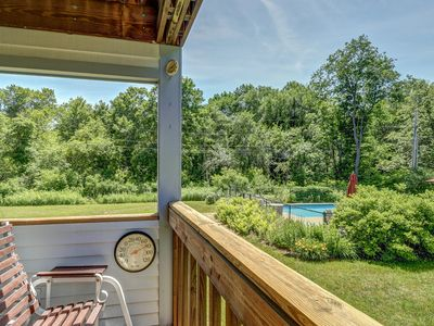 Photo for NEW LISTING! Cozy condo w/shared pool & shuttle ride to Okemo Mountain Resort