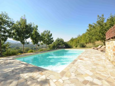 Photo for Villa with Private Pool & Stunning Views On The Mountains Of Monte Sibellini