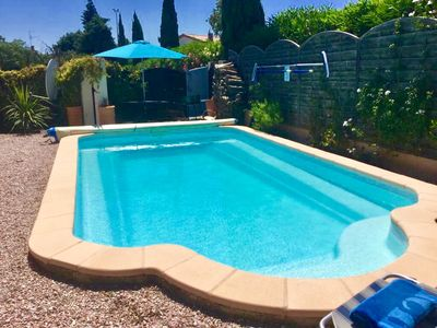 Photo for Private Swimming Pool  3 beds 2 baths Nr Carcassonne