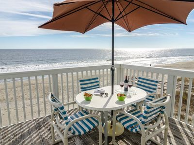 Photo for Oceanfront condo at Ocean Dunes