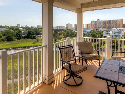 Photo for Spacious Myrtle Beach Condo w/View - Walk to Beach