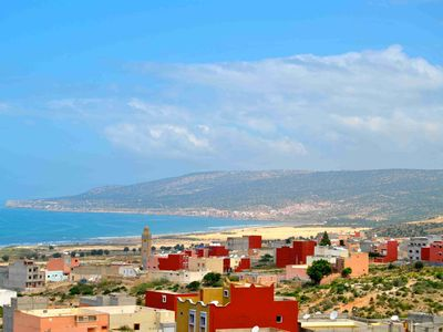 Photo for Apartment 4 people comfortably sea view terrace in quiet village