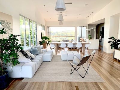 Photo for Light and Luxe Architectural Beach House in Noosa