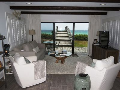 Living Area with Gulf View - Living Area with Gulf View