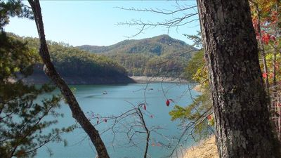 Photo for Luxury Lake Front Family Escape on Beautiful  Fontana Lake