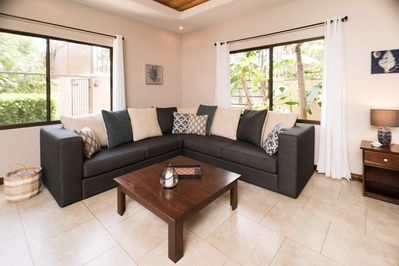 great living room to relax and enjoy time with family and friends.