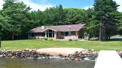 Photo for New Owner! Sled, Hunt, Fish, Relax, Clean, Lake front Property, Eagle River area