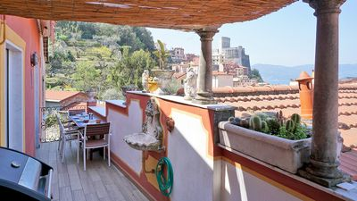 Photo for Terrace with a view - in the heart of Lerici