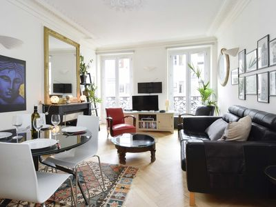 Photo for 204340 - A two-room apartment with traditional chic style in the Marais