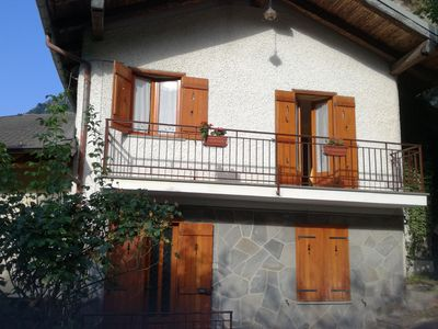 Photo for VALLE MAIRA, independent three-room apartment