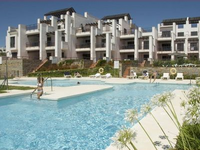 Photo for 2 bedroom Apartment, sleeps 6 in San Luis de Sabinillas with Pool, Air Con and WiFi