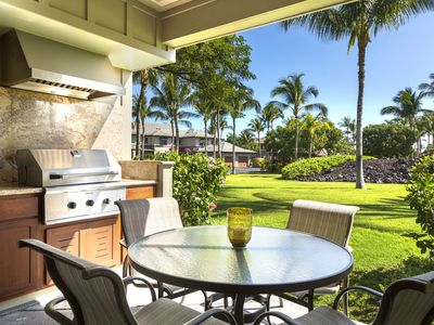 Photo for Mauna Lani Golf Villas Q2 - Beautiful Garden View Condo - Close to Pool/Spa